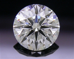 0.554 ct G VS2 A CUT ABOVE® Hearts and Arrows Super Ideal Round Cut Loose Diamond