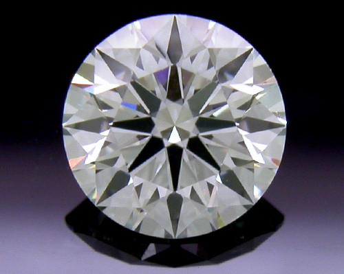0.504 ct G VS2 A CUT ABOVE® Hearts and Arrows Super Ideal Round Cut Loose Diamond