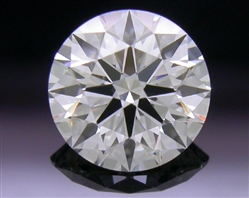 0.558 ct G VS1 A CUT ABOVE® Hearts and Arrows Super Ideal Round Cut Loose Diamond