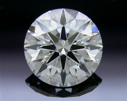 0.555 ct G VS1 A CUT ABOVE® Hearts and Arrows Super Ideal Round Cut Loose Diamond