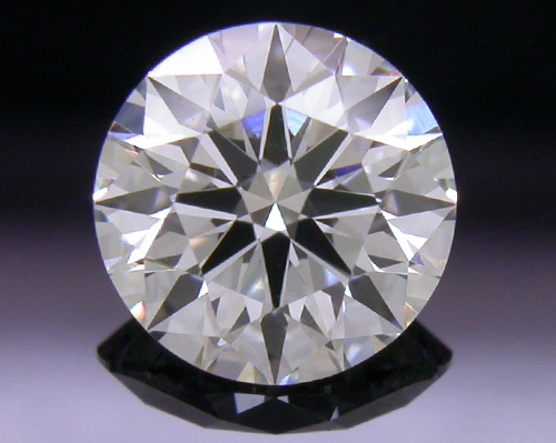 0.626 ct F SI1 A CUT ABOVE® Hearts and Arrows Super Ideal Round Cut Loose Diamond