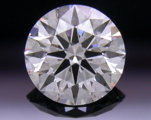 0.531 ct F SI1 A CUT ABOVE® Hearts and Arrows Super Ideal Round Cut Loose Diamond