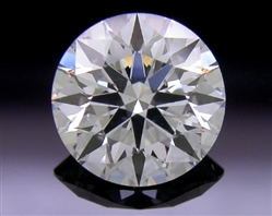 0.601 ct D SI2 A CUT ABOVE® Hearts and Arrows Super Ideal Round Cut Loose Diamond