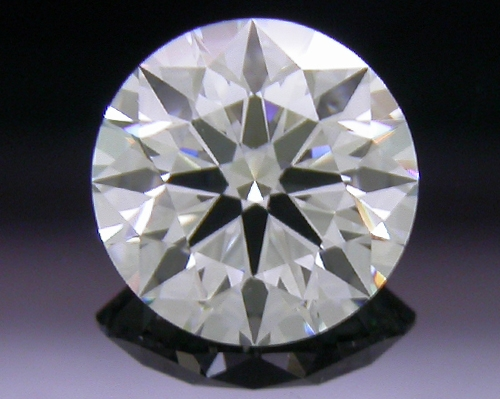 0.565 ct G VS1 A CUT ABOVE® Hearts and Arrows Super Ideal Round Cut Loose Diamond