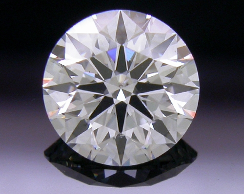 0.526 ct G SI1 A CUT ABOVE® Hearts and Arrows Super Ideal Round Cut Loose Diamond