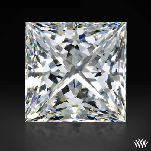 0.702 ct G SI1 A CUT ABOVE® Princess Super Ideal Cut Diamond