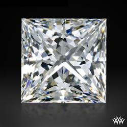 0.702 ct G SI1 A CUT ABOVE® Princess Super Ideal Cut Diamond