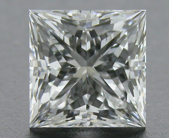 0.55 ct F VS2 A CUT ABOVE® Princess Super Ideal Cut Diamond