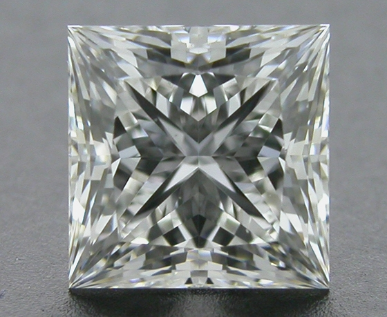 0.56 ct G VS2 A CUT ABOVE® Princess Super Ideal Cut Diamond