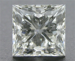 0.52 ct I VS2 A CUT ABOVE® Princess Super Ideal Cut Diamond