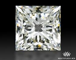 0.55 ct J VVS2 A CUT ABOVE® Princess Super Ideal Cut Diamond