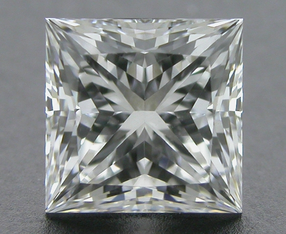 0.713 ct F VS1 A CUT ABOVE® Princess Super Ideal Cut Diamond
