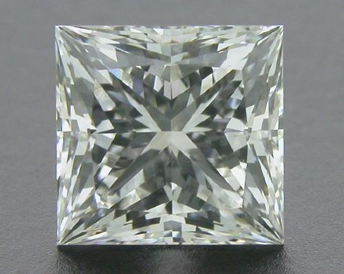 0.71 ct F SI1 A CUT ABOVE® Princess Super Ideal Cut Diamond