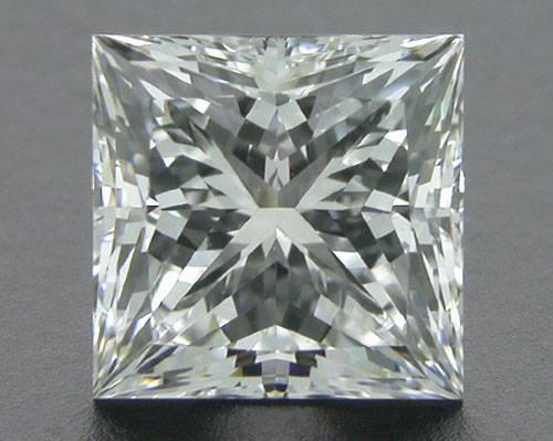 0.78 ct F VVS1 A CUT ABOVE® Princess Super Ideal Cut Diamond
