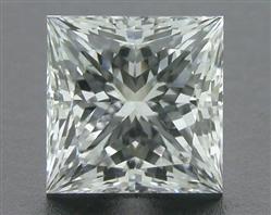 0.71 ct F VS1 A CUT ABOVE® Princess Super Ideal Cut Diamond