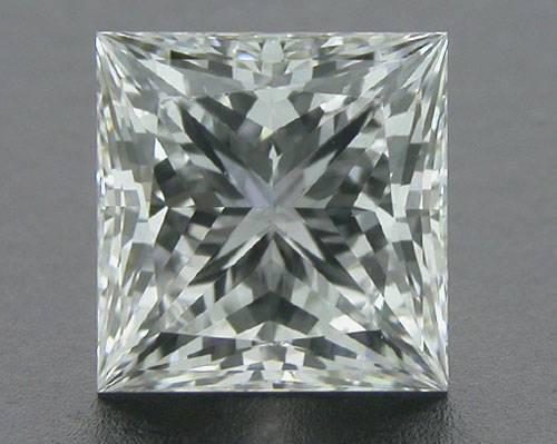 0.76 ct F VS1 A CUT ABOVE® Princess Super Ideal Cut Diamond