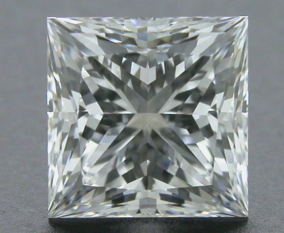 0.768 ct F VS2 A CUT ABOVE® Princess Super Ideal Cut Diamond