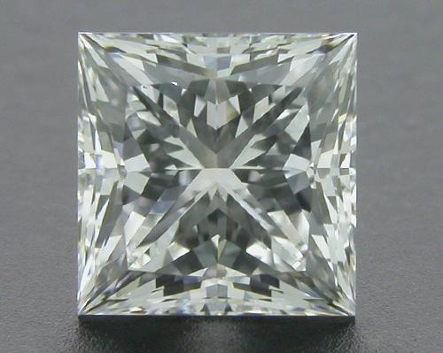 0.70 ct G VS2 A CUT ABOVE® Princess Super Ideal Cut Diamond