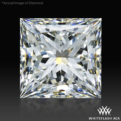 0.704 ct G VS2 A CUT ABOVE® Princess Super Ideal Cut Diamond