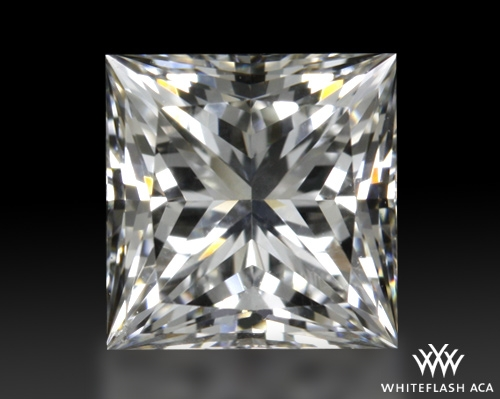 0.708 ct H VVS2 A CUT ABOVE® Princess Super Ideal Cut Diamond