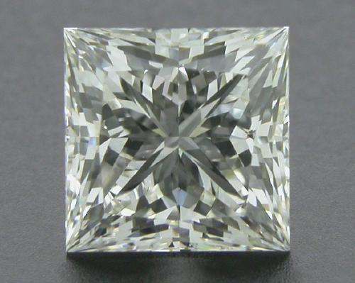 0.76 ct J VVS2 A CUT ABOVE® Princess Super Ideal Cut Diamond