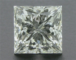 0.76 ct J VVS2 A CUT ABOVE® Princess Super Ideal Cut Diamond