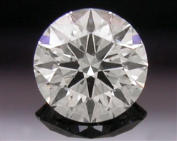 0.334 ct H SI1 A CUT ABOVE® Hearts and Arrows Super Ideal Round Cut Loose Diamond