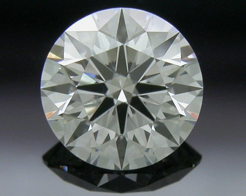 0.424 ct H VS2 A CUT ABOVE® Hearts and Arrows Super Ideal Round Cut Loose Diamond