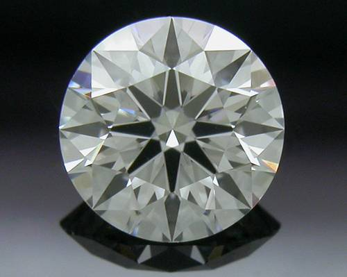 0.41 ct H SI1 A CUT ABOVE® Hearts and Arrows Super Ideal Round Cut Loose Diamond