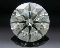 0.434 ct G VS2 A CUT ABOVE® Hearts and Arrows Super Ideal Round Cut Loose Diamond