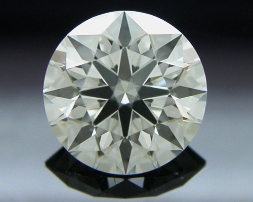 0.464 ct H SI1 A CUT ABOVE® Hearts and Arrows Super Ideal Round Cut Loose Diamond