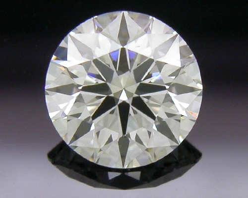 0.406 ct G SI1 A CUT ABOVE® Hearts and Arrows Super Ideal Round Cut Loose Diamond