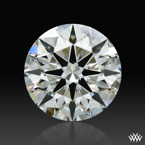 0.461 ct H SI1 A CUT ABOVE® Hearts and Arrows Super Ideal Round Cut Loose Diamond
