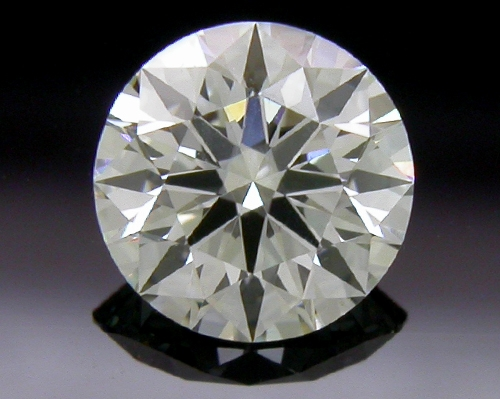 0.404 ct H SI1 A CUT ABOVE® Hearts and Arrows Super Ideal Round Cut Loose Diamond