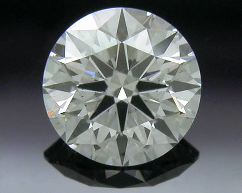 0.341 ct H SI1 A CUT ABOVE® Hearts and Arrows Super Ideal Round Cut Loose Diamond