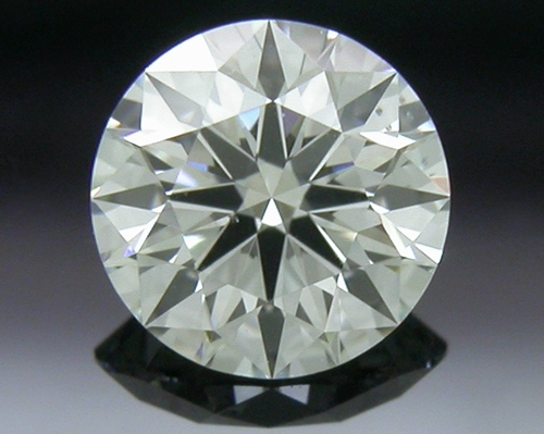 0.327 ct G SI1 A CUT ABOVE® Hearts and Arrows Super Ideal Round Cut Loose Diamond