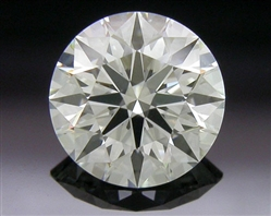 0.438 ct J SI1 A CUT ABOVE® Hearts and Arrows Super Ideal Round Cut Loose Diamond
