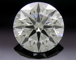 0.397 ct J SI1 A CUT ABOVE® Hearts and Arrows Super Ideal Round Cut Loose Diamond