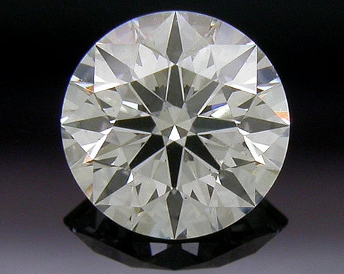 0.392 ct J SI1 A CUT ABOVE® Hearts and Arrows Super Ideal Round Cut Loose Diamond