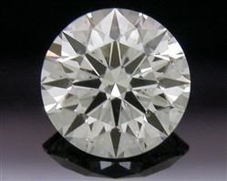 0.403 ct J SI1 A CUT ABOVE® Hearts and Arrows Super Ideal Round Cut Loose Diamond