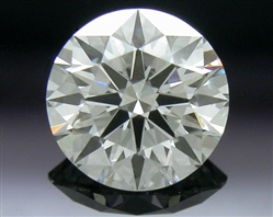 0.445 ct I SI1 A CUT ABOVE® Hearts and Arrows Super Ideal Round Cut Loose Diamond