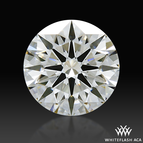 0.451 ct I SI1 A CUT ABOVE® Hearts and Arrows Super Ideal Round Cut Loose Diamond