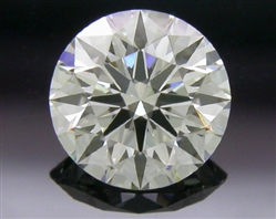 0.407 ct H SI1 A CUT ABOVE® Hearts and Arrows Super Ideal Round Cut Loose Diamond