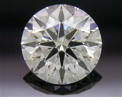 0.428 ct G SI1 A CUT ABOVE® Hearts and Arrows Super Ideal Round Cut Loose Diamond