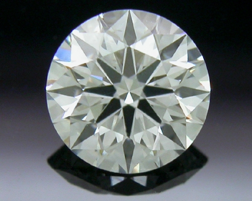 0.434 ct H SI1 A CUT ABOVE® Hearts and Arrows Super Ideal Round Cut Loose Diamond