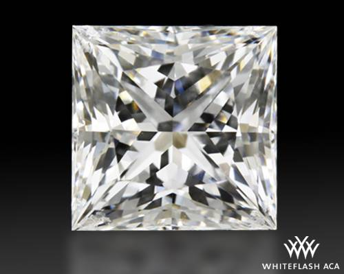 0.931 ct F VS1 A CUT ABOVE® Princess Super Ideal Cut Diamond