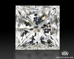 0.931 ct F VS1 A CUT ABOVE® Princess Super Ideal Cut Diamond