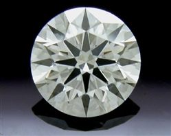 0.69 ct H SI1 A CUT ABOVE® Hearts and Arrows Super Ideal Round Cut Loose Diamond