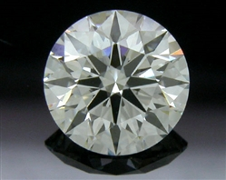0.747 ct H VS1 A CUT ABOVE® Hearts and Arrows Super Ideal Round Cut Loose Diamond