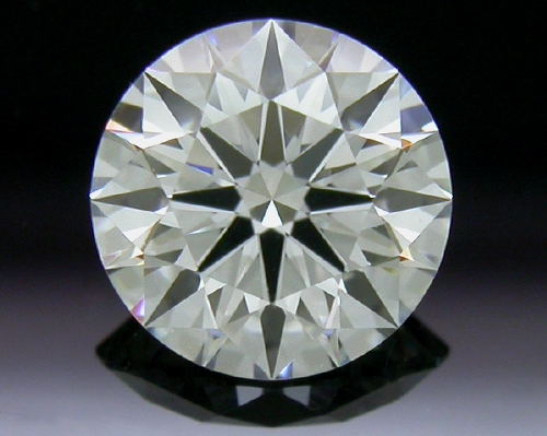 0.742 ct F VVS1 A CUT ABOVE® Hearts and Arrows Super Ideal Round Cut Loose Diamond